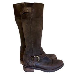 Timberland Brown Leather Boots - Women's Size 6